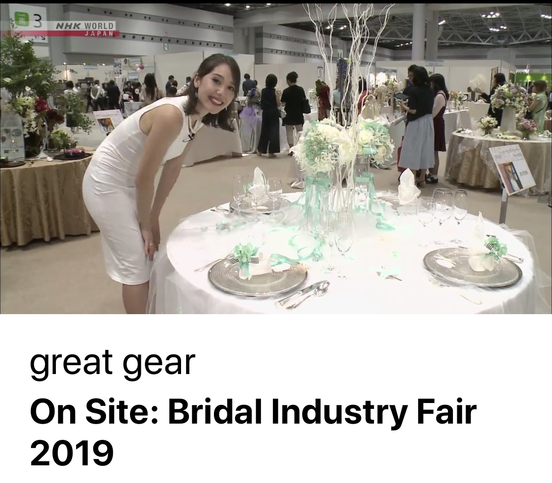 NHK BS-Bridal Industry Fair