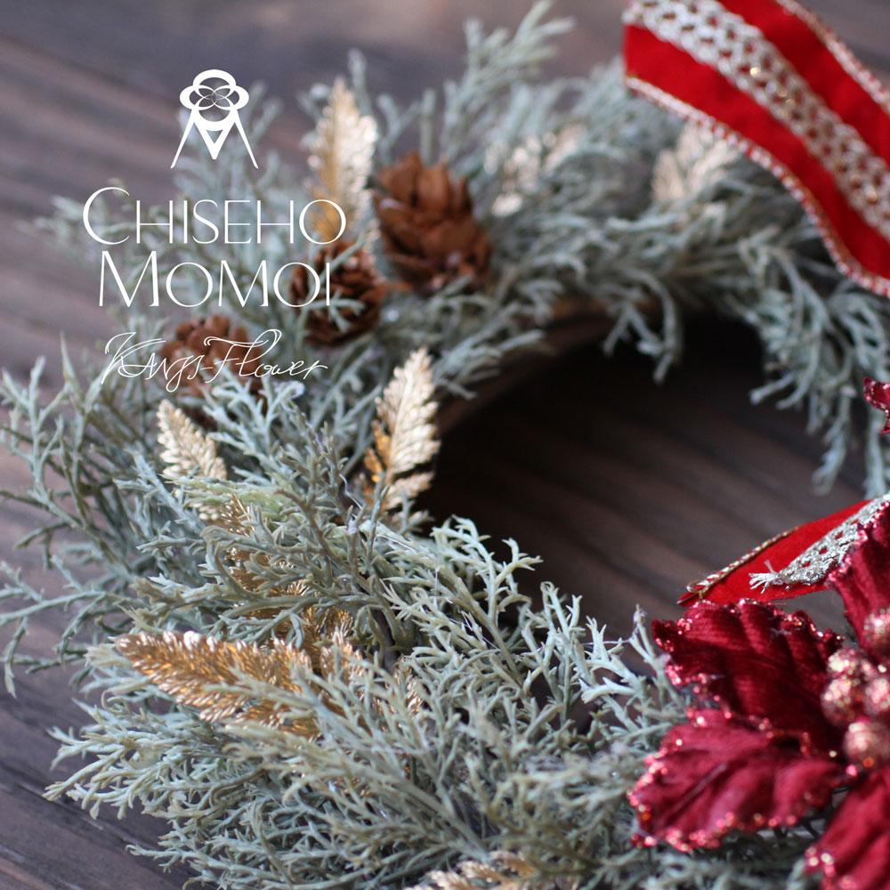 クリスマスリース画像